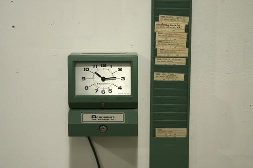 Work Time Clock