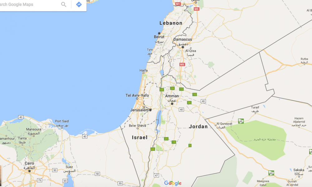 Google Erases Palestine from the Map | Left Voice