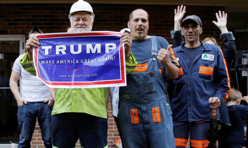 Image result for workers for Trump