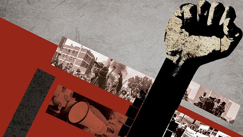 Propaganda Political Civil Rights Racism Communism Black Liberation Framed Print
