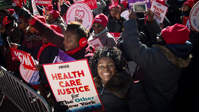 New York Nurses Resolve to Fight for Public Employees' Right to