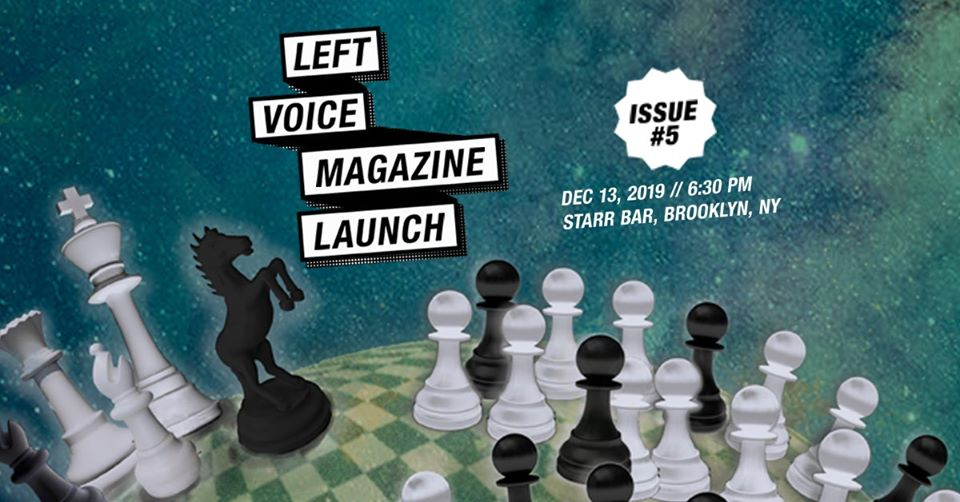 Left Voice #5 release party
