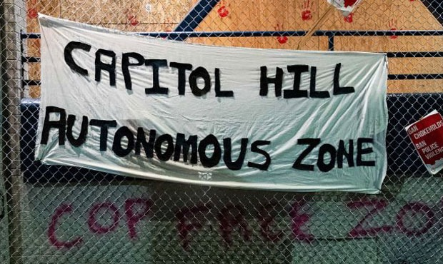 Welcome To The Free Capitol Hill Seattle Protesters Establish Autonomous Zone Left Voice