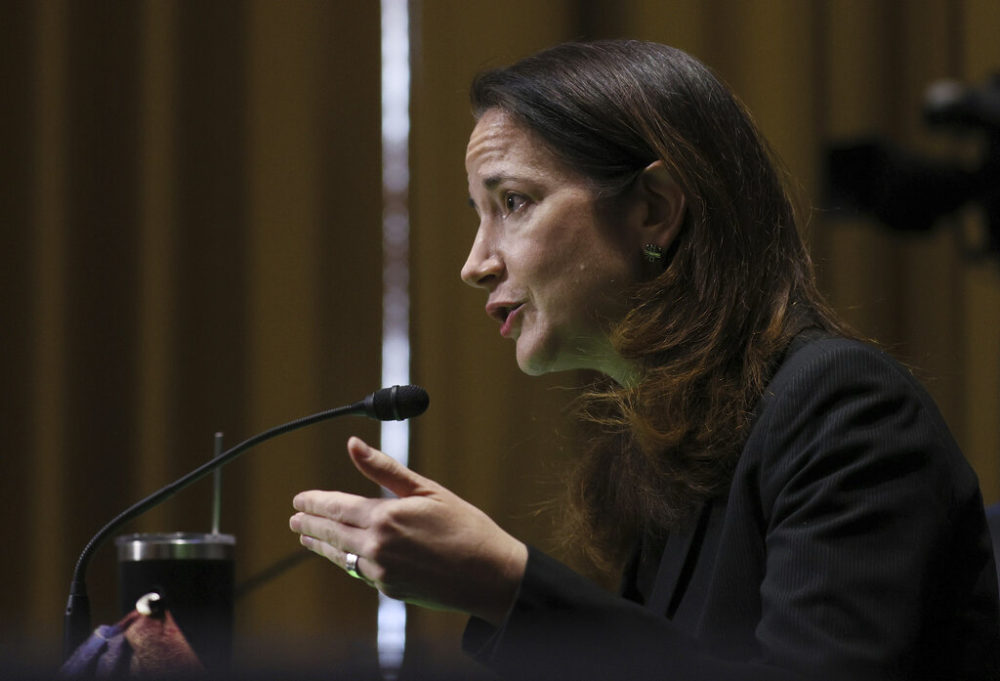 New Director of National Intelligence, Avril Haines, speaking at her confirmation hearing