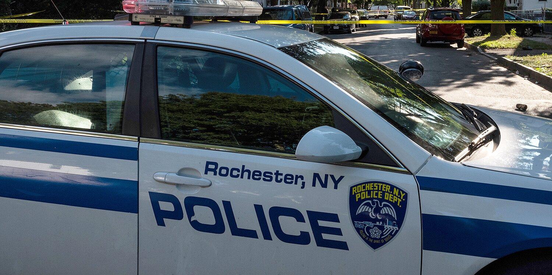 Rochester NY Cop Car